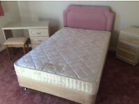 FREE DOUBLE BED WITH HEADBOARD