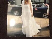 Gelen Novas designer wedding dress 6-8 originally £1400