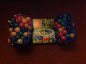 Brand new ball pit and ball
