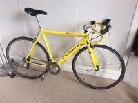 Carrera Virtuoso Road Bicycle - Yellow