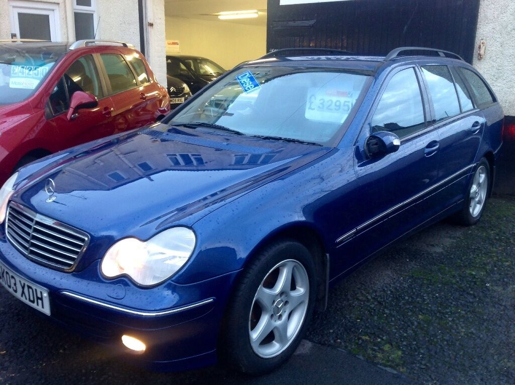 2003 03 mercedes c220 cdi avantgarde diesel f m s h 99 000 3500 in troon south ayrshire. Black Bedroom Furniture Sets. Home Design Ideas