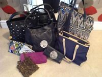 Assortment of bags