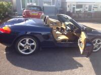 Porsche Boxster. Located in redditch Worcestershire currently