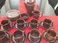 Wedgewood Coffee Set with side plates - Excellent condition