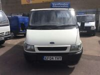 FORD TRANSIT 280 swb 2.0 turbo diesel 2004 model new m o t , £1995.