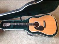 Left Handed Martin D28 Acoustic Guitar