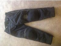 Mens motorcycle jacket & trousers