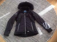Ladies/Girls Black Trespass Coat