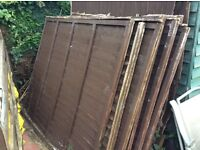 11 5ft fence panels