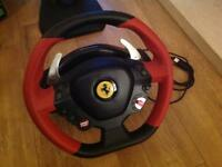 Xbox one Ferrari 458 Spider steering wheel