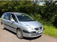 citroen c8 7 sets petrol and lpg £25 full tank mot great for big family car