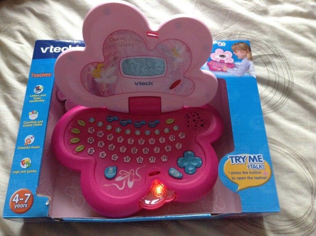 Brand new vtech dancing fairies laptop for age 4-7