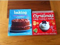 2 baking cook books