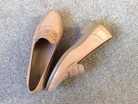 K Shoes Beige Loafer
