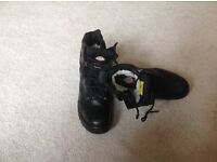 Dickies Safety boots Size UK 8 Lace up and Zip up