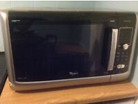 Whirlpool family chef microwave oven