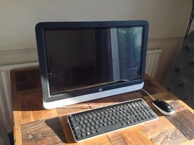 HP All-in-One Pc 22 inch Touchscreen Display