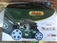 Self propelled motor mower