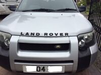 Land Rover Freelander 2.0 diesel automatic 5 door will p/ex for larger vehicle or accept near offer