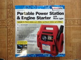 PORTABLE POWER STATION AND ENGINE JUMP STARTER