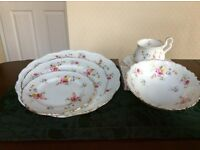 Dinnerware Bone China Royal Albert Tenderness