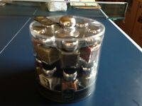 Rotating Spice Jar rack
