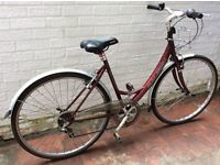 Ladies Raleigh Oakland bicycle in good working order