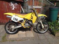 Suzuki RM250 1992
