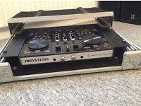 JB Systems Kontrol 3 DJ Midi Controller With Cobra Flight Case. Immaculate.