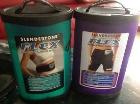 Slender tone Flex female abdominal +Bottom&Thigh toning system