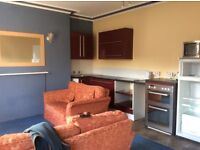 Newly refitted large one double bedroom flat.
