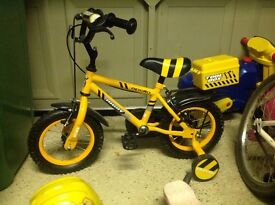Boys bike for sale size up to 5 years great condition