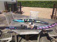 Here for sale is my HO mono water ski