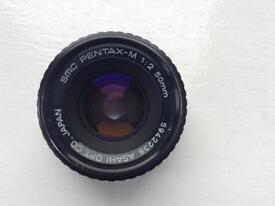 Camera Lens. SMC Pentax-M