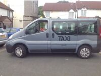 TAXI RENAULT TRAFIC 2007 seven seater wheelchair cab