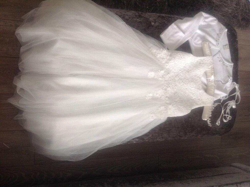 Flowergirl dress from debenhams age 9