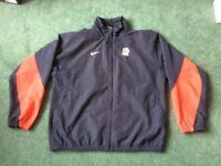 Nike England Rugby Zip Up jacket.