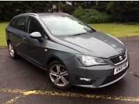 2015 SEAT IBIZA 1.2 TFSI FR ESTATE *AUTOMATIC*, ONLY 31000 MILES FROM NEW