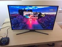 "Samsung 32"" Full HD TV and stand"