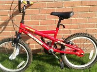 Childs Red Bike excellent condition!