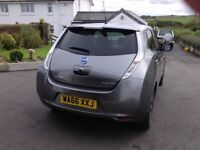 Never buy petrol again with my Nissan Leaf Tekna 30 KW 5dr hatchback in excellent condition