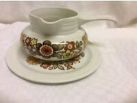 Vintage Myott Soup Bowl and Plate