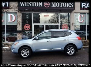 2011 Nissan Rogue SV* AWD* BACKUP CAM* MICHELINS