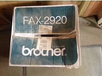 Brand new Brother 2920 Compact mono laser fax