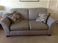 Marks & Spencer 4 Seater sofa plus armchair. Good condition.