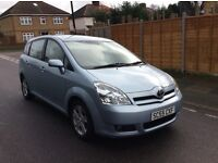 Toyota Corolla verso 2.2 diesel with Full service history, seven seats only 1 previous keeper