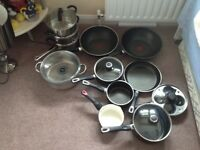 set of pans for gas cookers