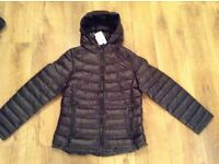New with tags Large black bubble jacket