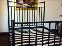 Superior quality durable iron bed (Free delivery see descrption)
