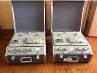 Ferrograph reel to reel tape recorders